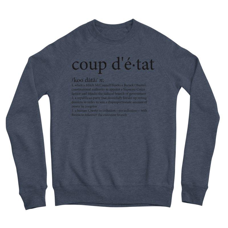 Couped Up Women's Sponge Fleece Sweatshirt by Resistance Merch