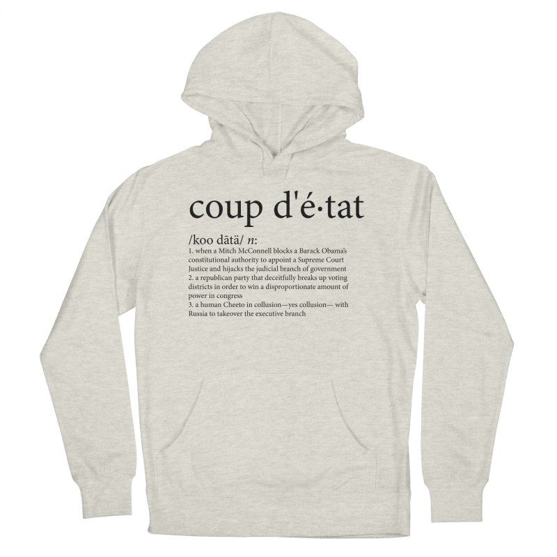 Couped Up Men's French Terry Pullover Hoody by Resistance Merch