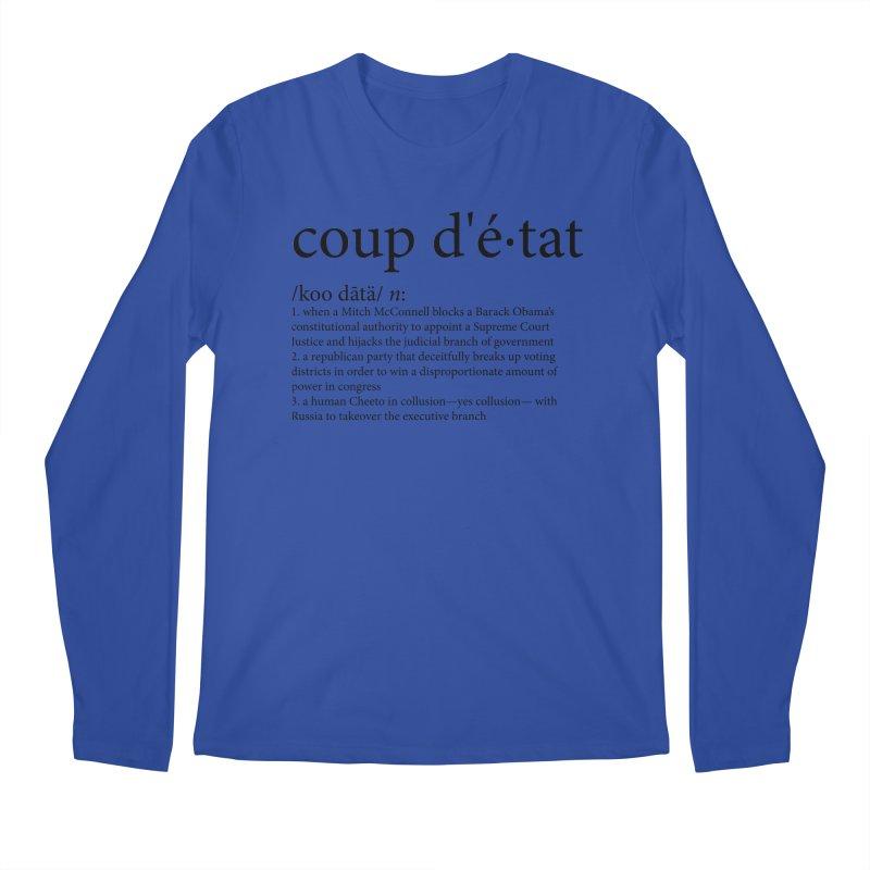 Couped Up Men's Regular Longsleeve T-Shirt by Resistance Merch