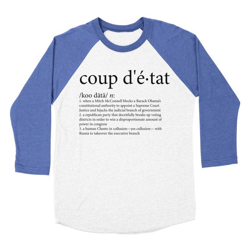 Couped Up Men's Baseball Triblend Longsleeve T-Shirt by Resistance Merch