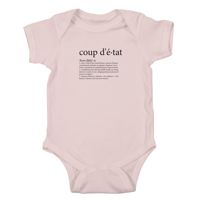 Couped Up Kids Baby Bodysuit by Resistance Merch