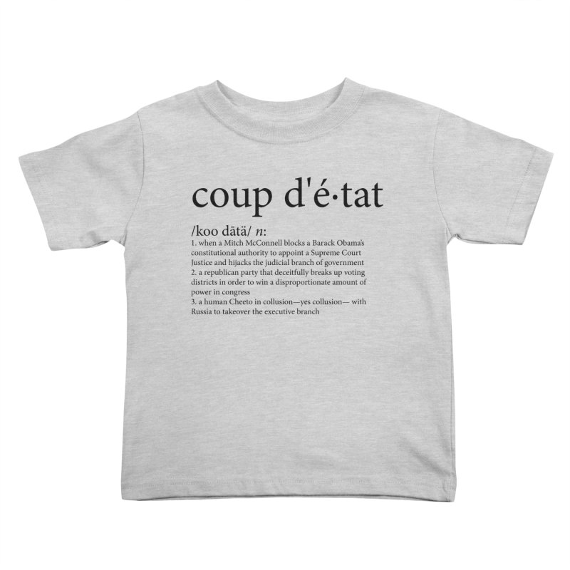 Couped Up Kids Toddler T-Shirt by Resistance Merch