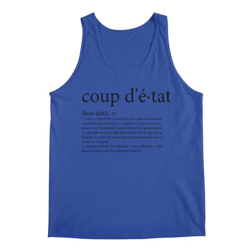 Couped Up Men's Regular Tank by Resistance Merch
