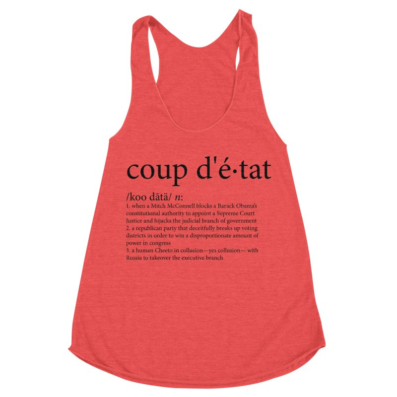 Couped Up Women's Tank by Resistance Merch