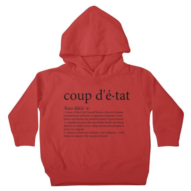 Couped Up Kids Toddler Pullover Hoody by Resistance Merch