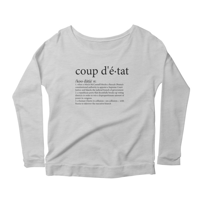 Couped Up Women's Scoop Neck Longsleeve T-Shirt by Resistance Merch