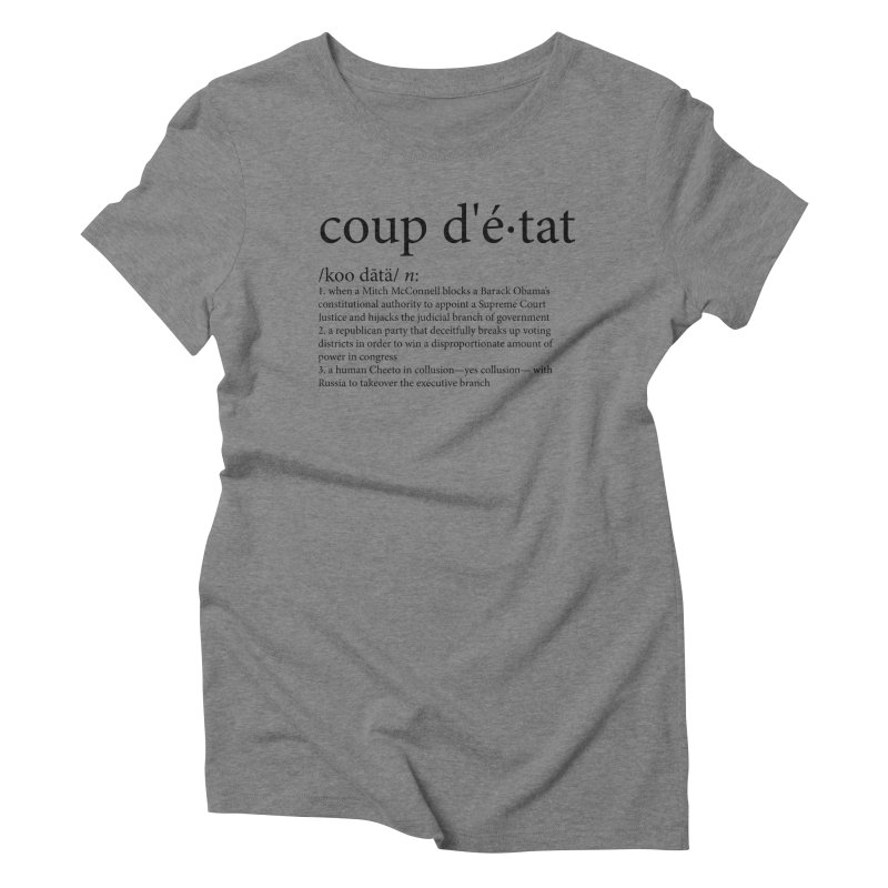 Couped Up Women's Triblend T-Shirt by Resistance Merch