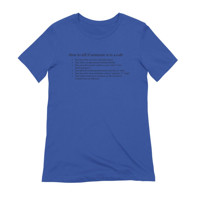 Classic Cult Women's Extra Soft T-Shirt by Resistance Merch