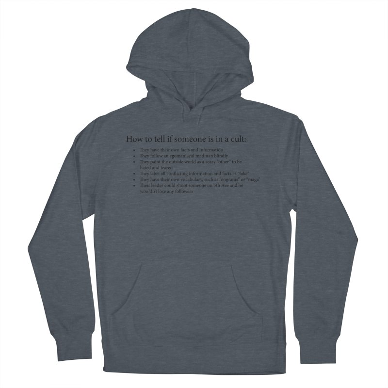 Classic Cult Women's French Terry Pullover Hoody by Resistance Merch