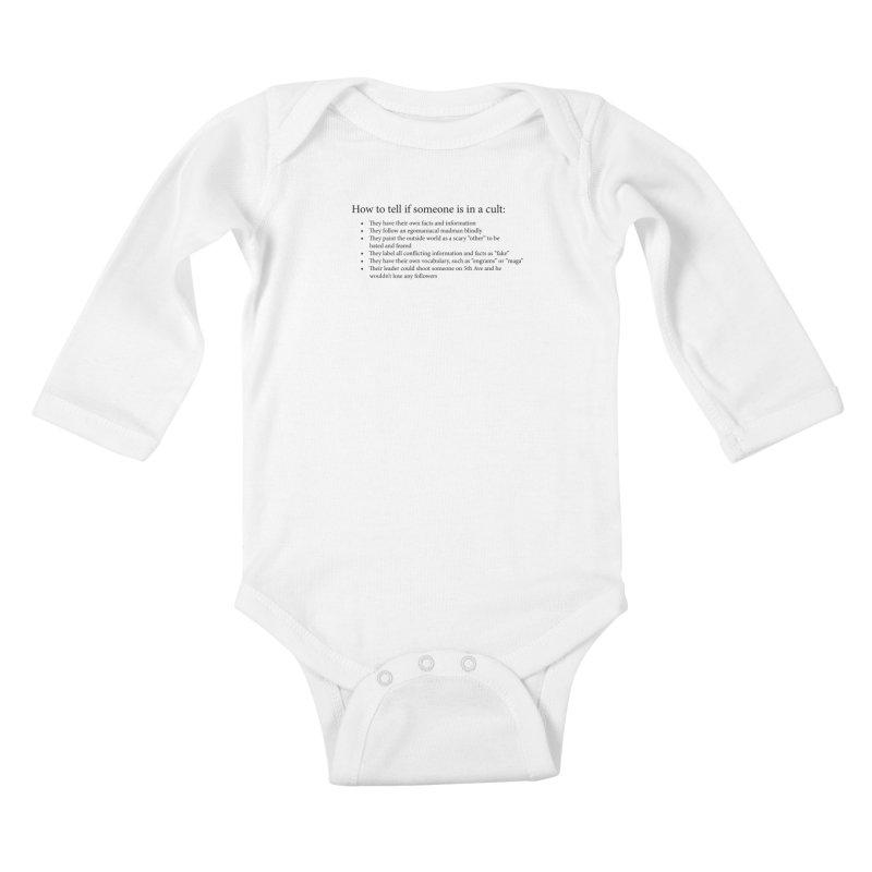 Classic Cult Kids Baby Longsleeve Bodysuit by Resistance Merch