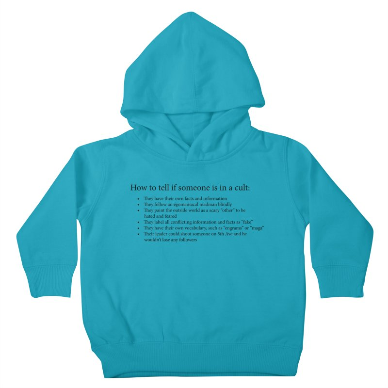 Classic Cult Kids Toddler Pullover Hoody by Resistance Merch