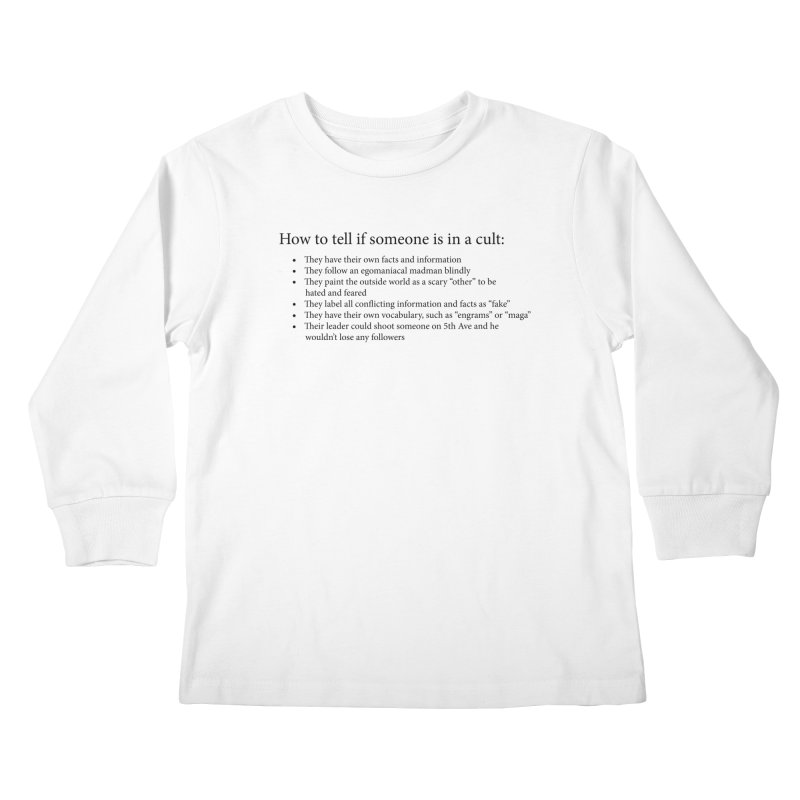 Classic Cult Kids Longsleeve T-Shirt by Resistance Merch