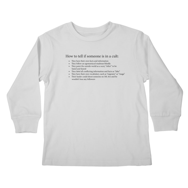 Classic Cult Kids Longsleeve T-Shirt by Resistance Merch