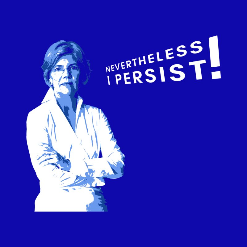 Nevertheless I Persist by Resistance Merch