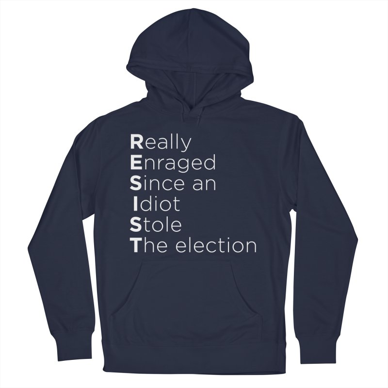 Resist the Idiot Men's Pullover Hoody by Resistance Merch