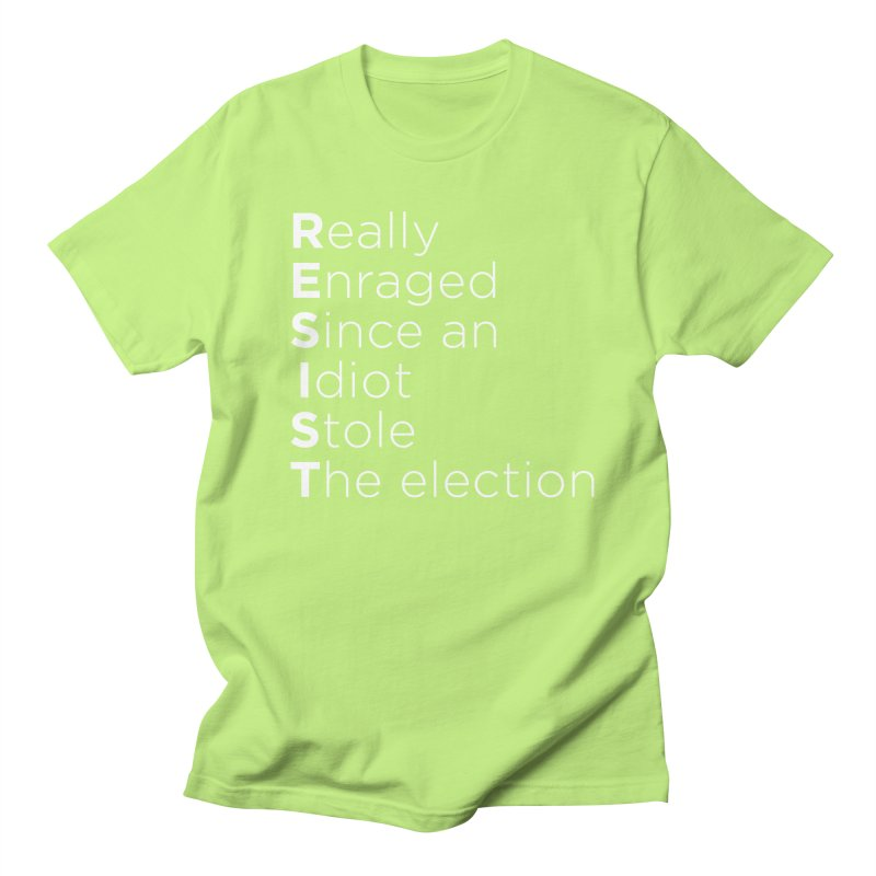 Resist the Idiot Men's T-Shirt by Resistance Merch