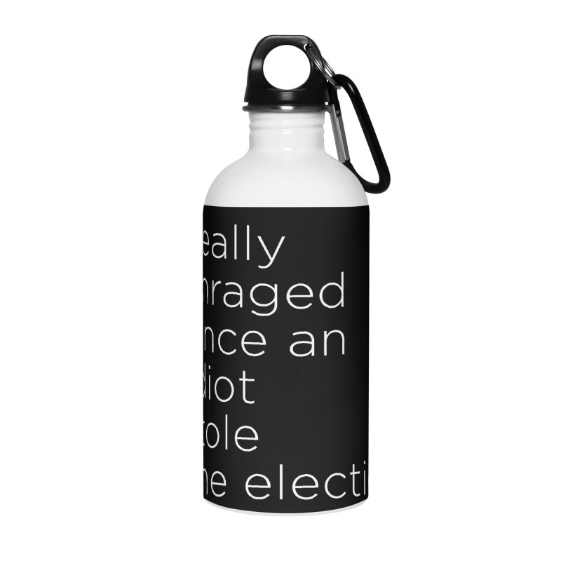 Resist the Idiot Accessories Water Bottle by Resistance Merch