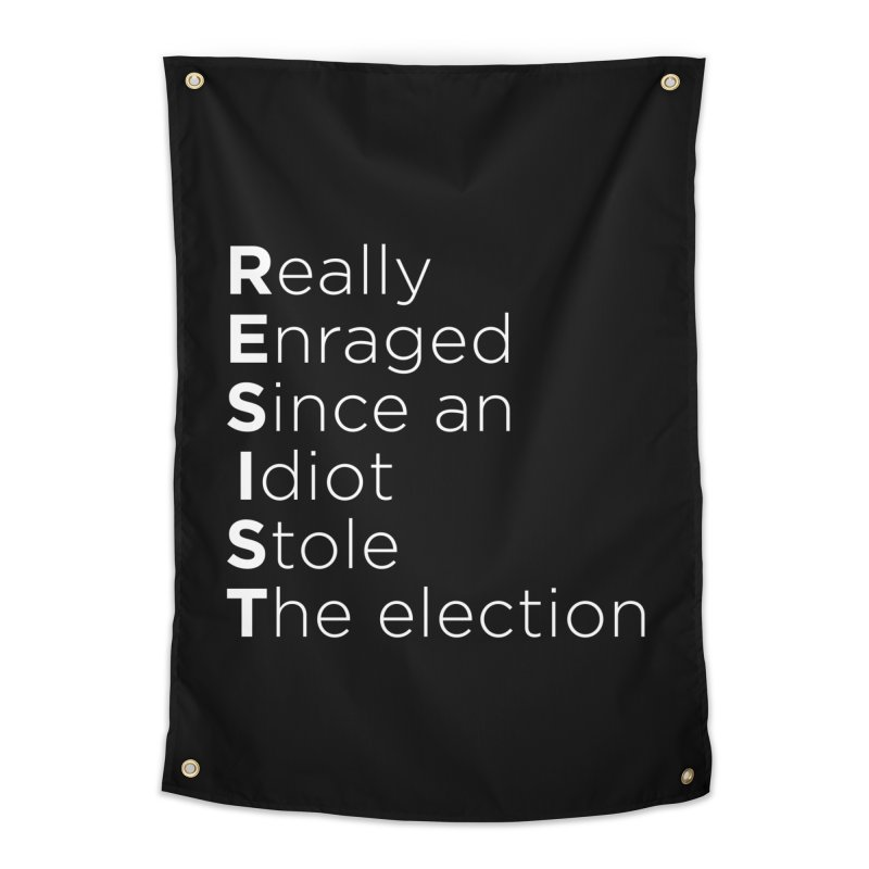 Resist the Idiot Home Tapestry by Resistance Merch
