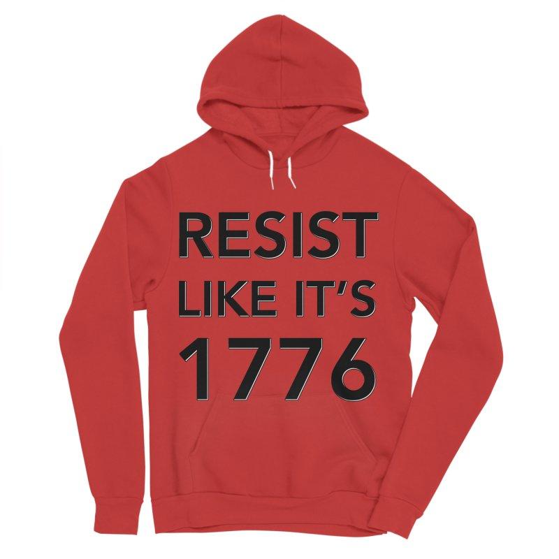 Resist Like it's 1776 Men's Sponge Fleece Pullover Hoody by Resistance Merch