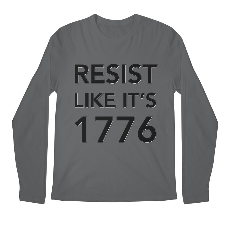 Resist Like it's 1776 Men's Longsleeve T-Shirt by Resistance Merch