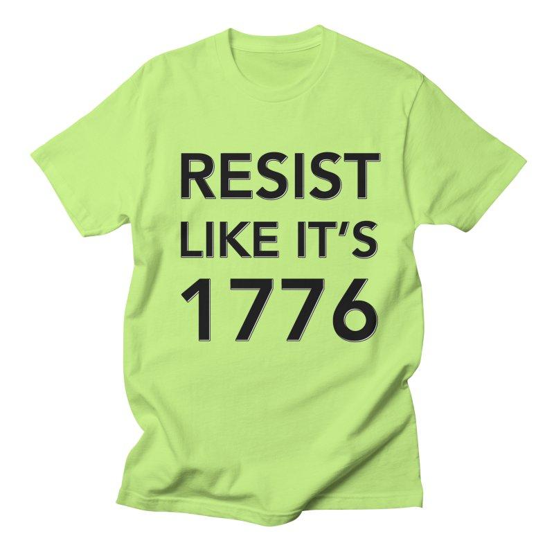 Resist Like it's 1776 Men's Regular T-Shirt by Resistance Merch