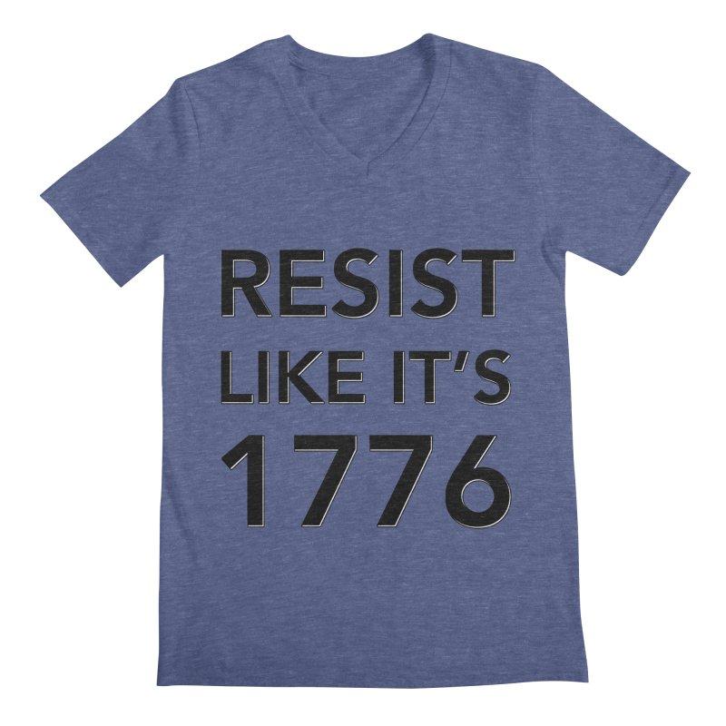 Resist Like it's 1776 Men's V-Neck by Resistance Merch