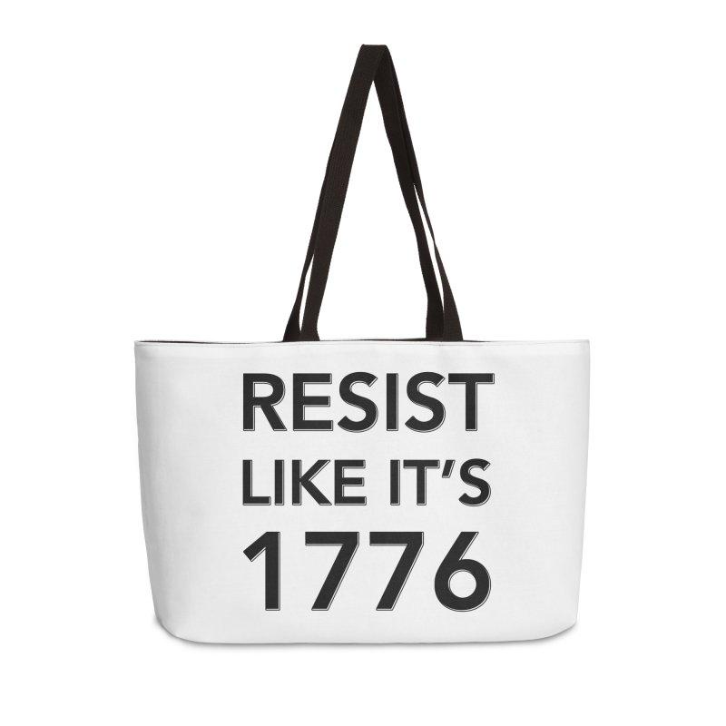 Resist Like it's 1776 Accessories Weekender Bag Bag by Resistance Merch
