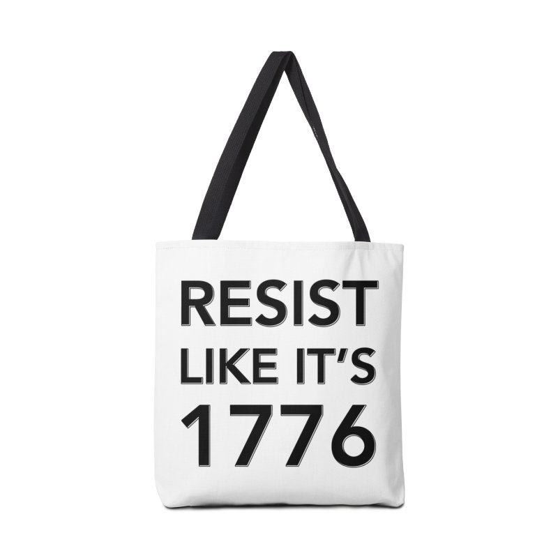 Resist Like it's 1776 Accessories Bag by Resistance Merch