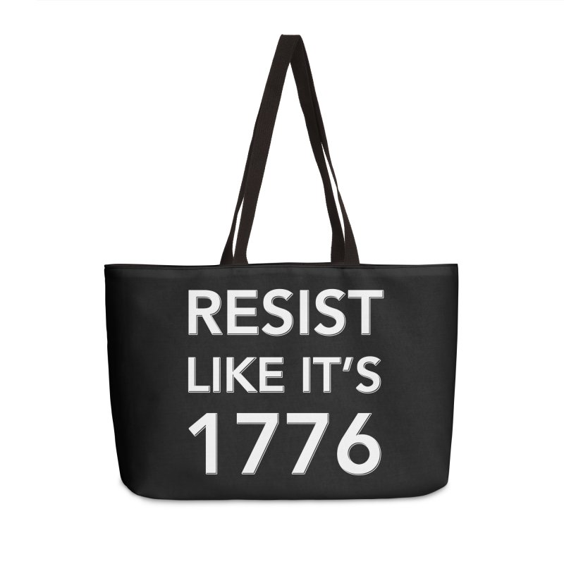 Resist Like it's 1776 — for dark backgrounds Accessories Bag by Resistance Merch