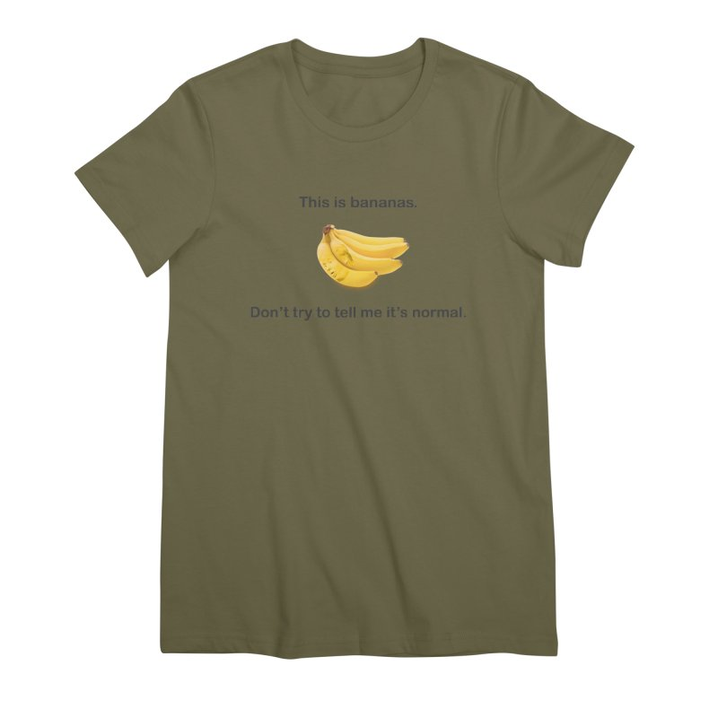 Bananas Women's Premium T-Shirt by Resistance Merch