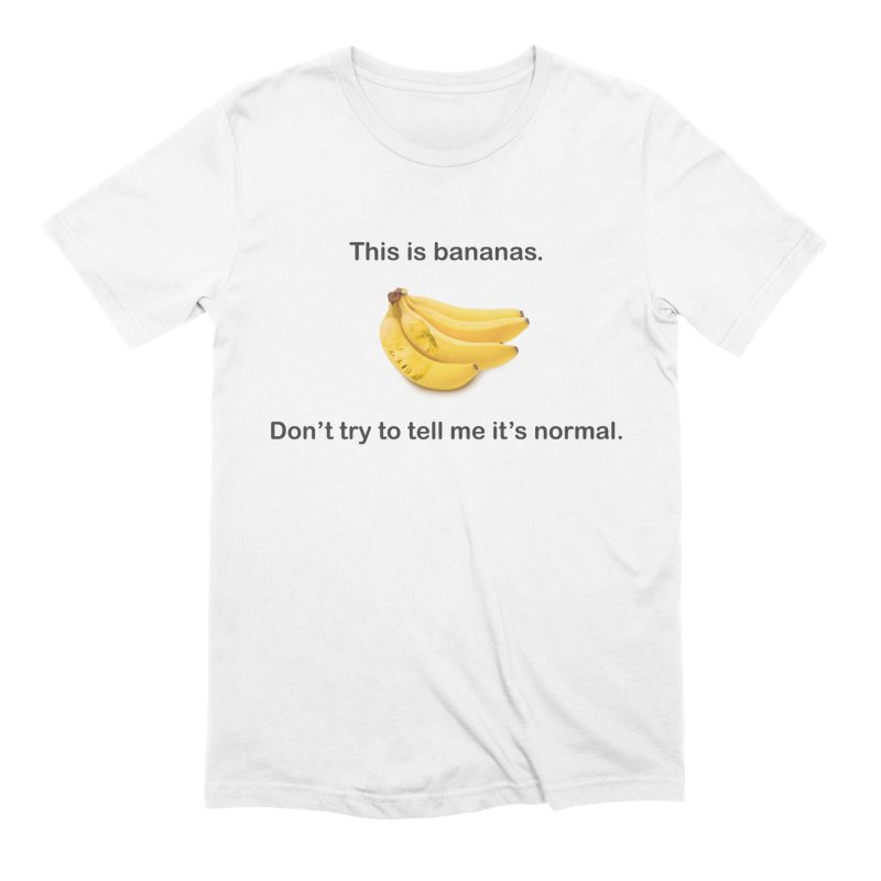 Bananas Men's T-Shirt by Resistance Merch