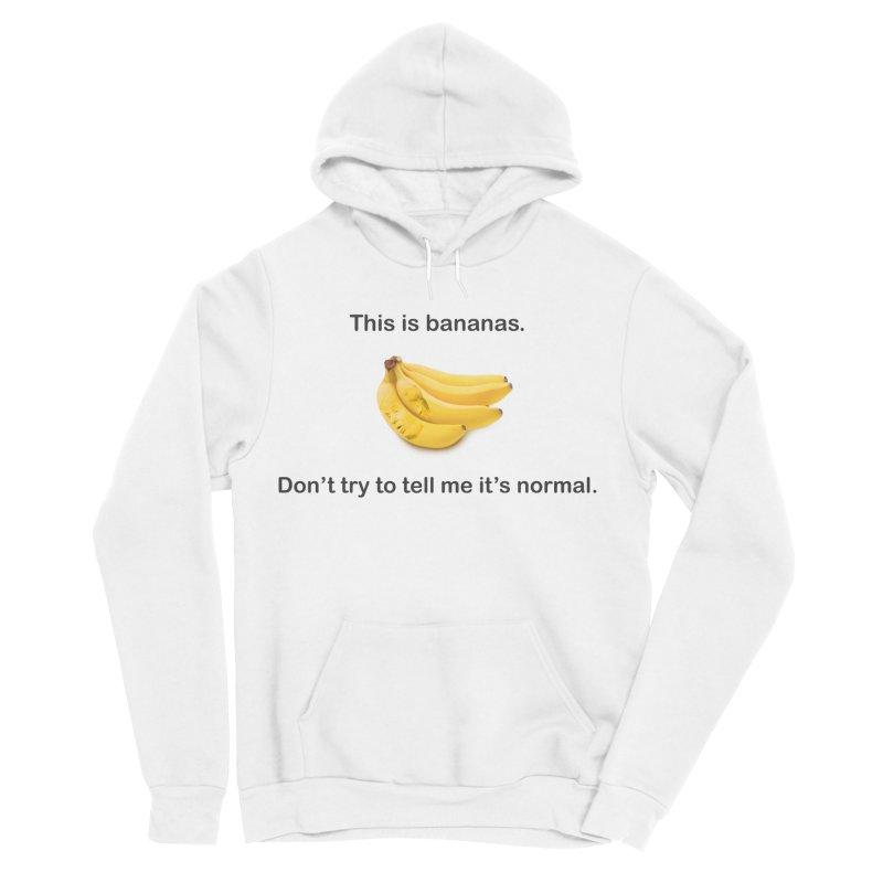 Bananas Men's Sponge Fleece Pullover Hoody by Resistance Merch