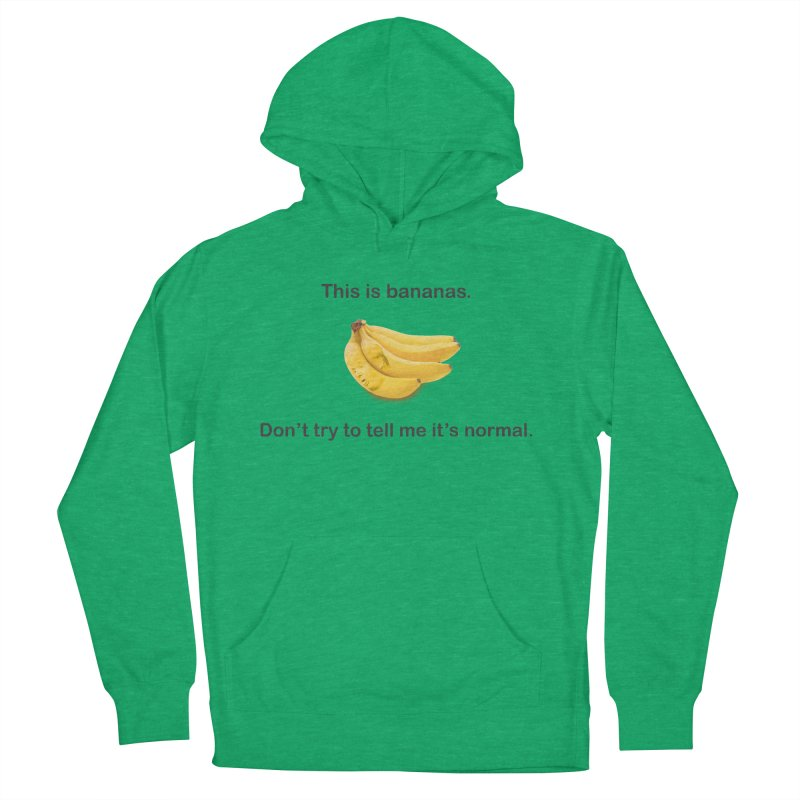 Bananas Men's French Terry Pullover Hoody by Resistance Merch