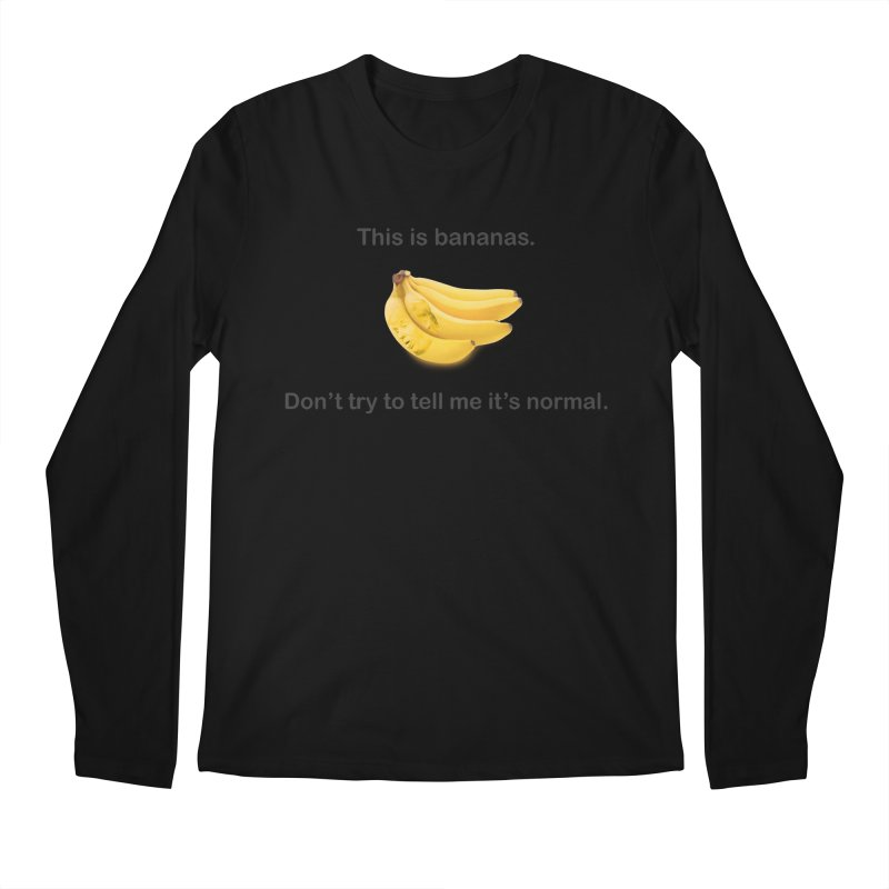 Bananas Men's Regular Longsleeve T-Shirt by Resistance Merch