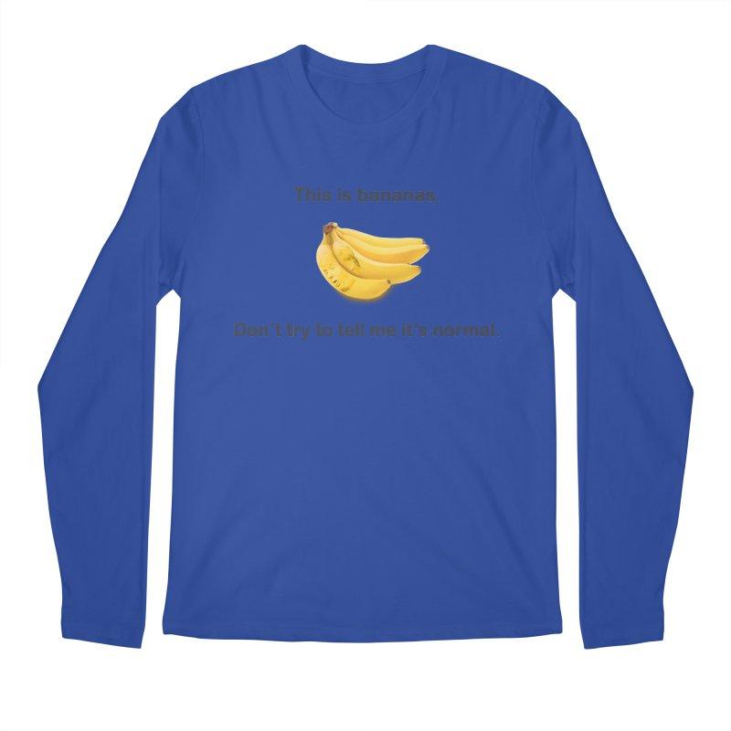 Bananas Men's Regular Longsleeve T-Shirt by Resistance Merch