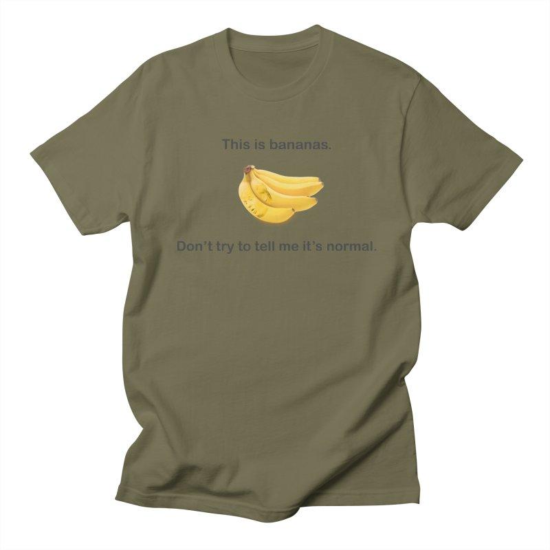 Bananas Men's T-Shirt by Resistance Merch