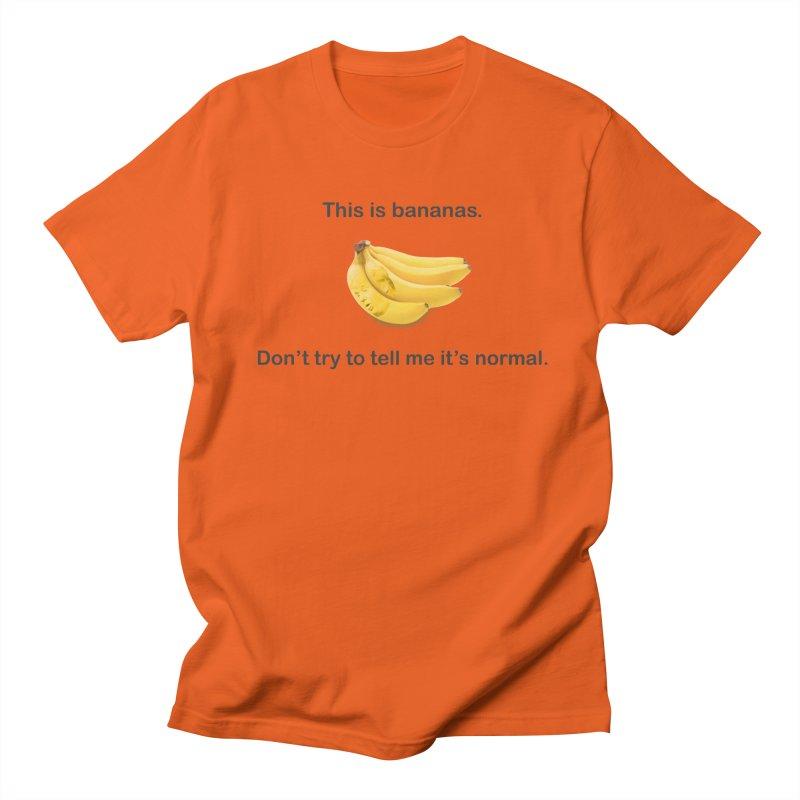 Bananas Women's Regular Unisex T-Shirt by Resistance Merch
