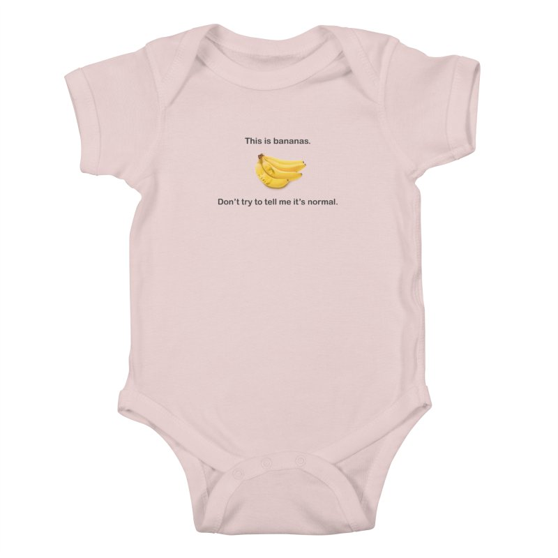 Bananas Kids Baby Bodysuit by Resistance Merch