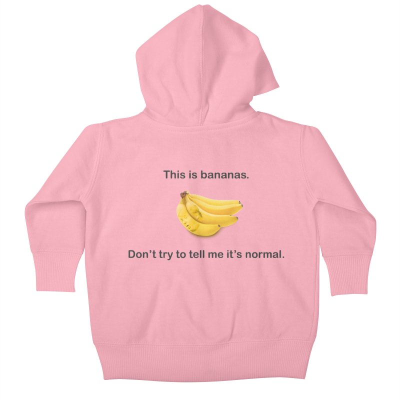 Bananas Kids Baby Zip-Up Hoody by Resistance Merch