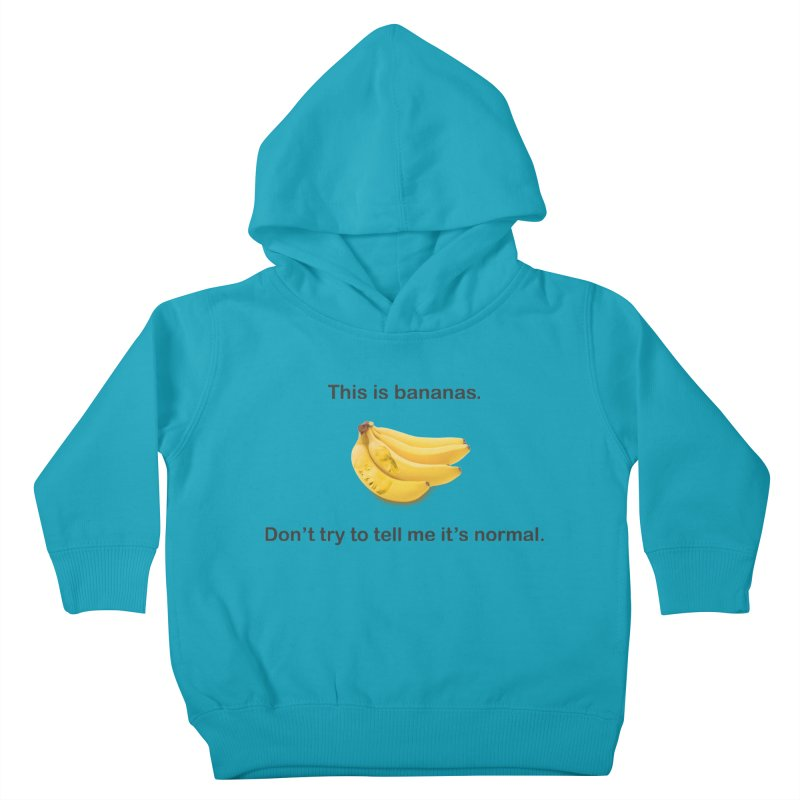 Bananas Kids Toddler Pullover Hoody by Resistance Merch