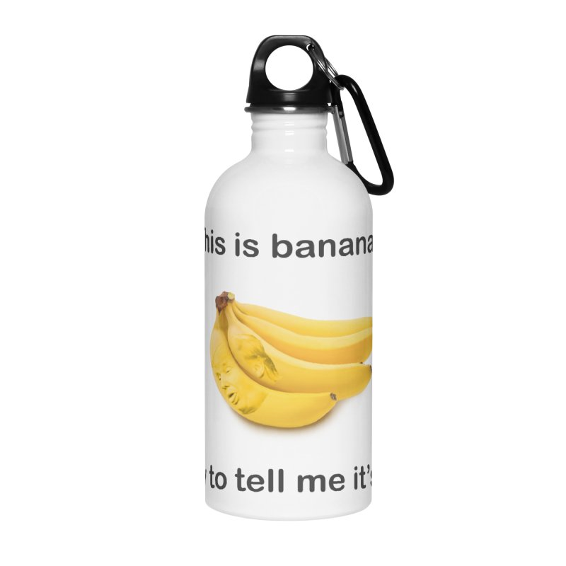 Bananas Accessories Water Bottle by Resistance Merch