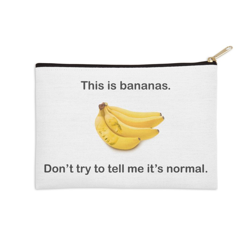 Bananas Accessories Zip Pouch by Resistance Merch