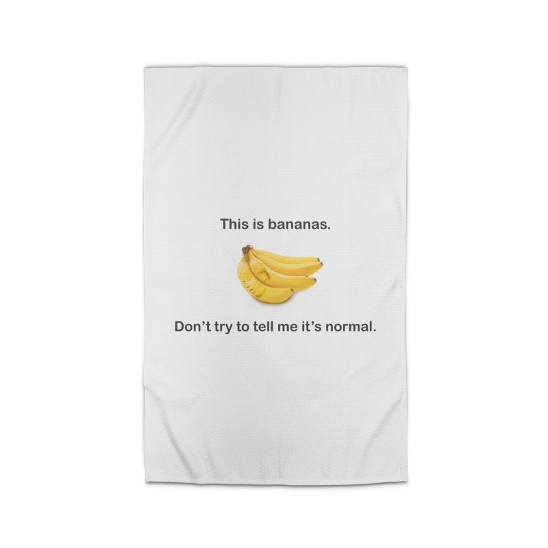Bananas Home Rug by Resistance Merch