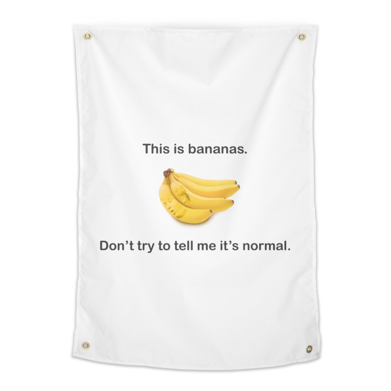 Bananas Home Tapestry by Resistance Merch