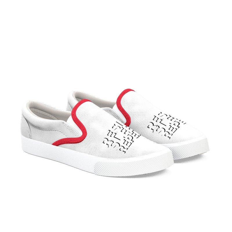 Resist Sleep Repeat Women's Slip-On Shoes by Resistance Merch