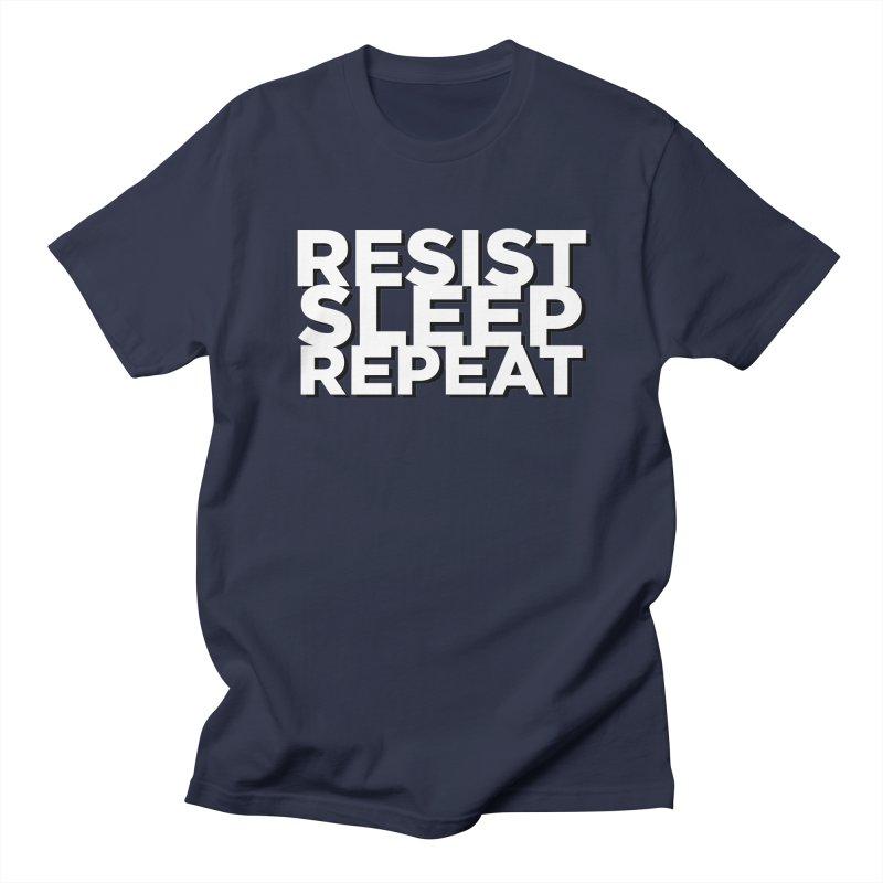 Resist Sleep Repeat Women's Regular Unisex T-Shirt by Resistance Merch