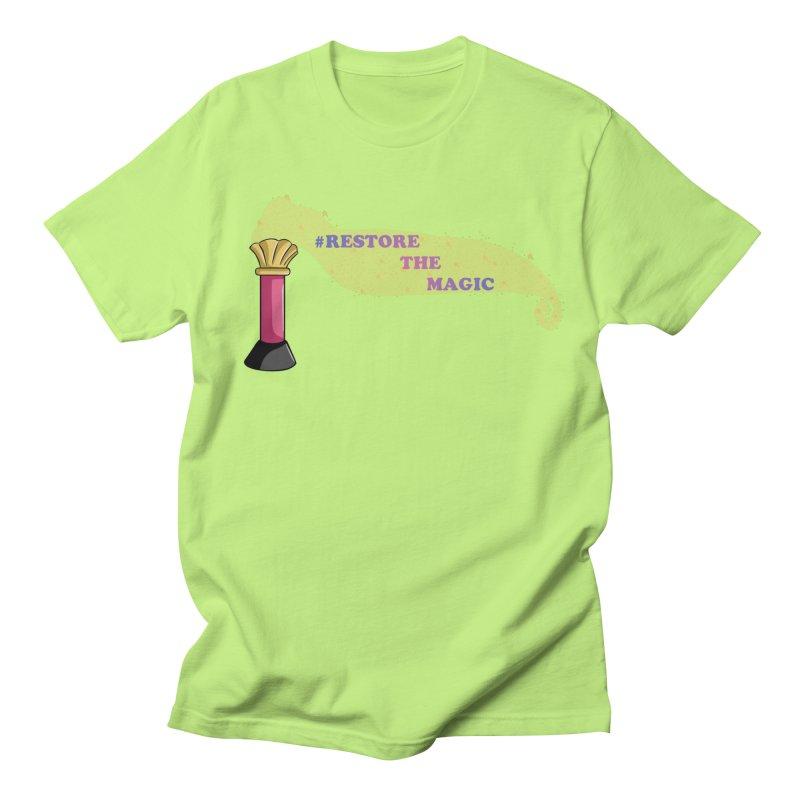 Restore The Magic Men's T-Shirt by RestoreTheMagic's Artist Shop