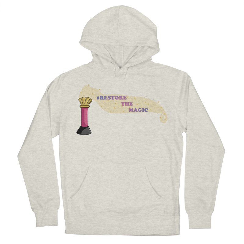 Restore The Magic Men's French Terry Pullover Hoody by RestoreTheMagic's Artist Shop