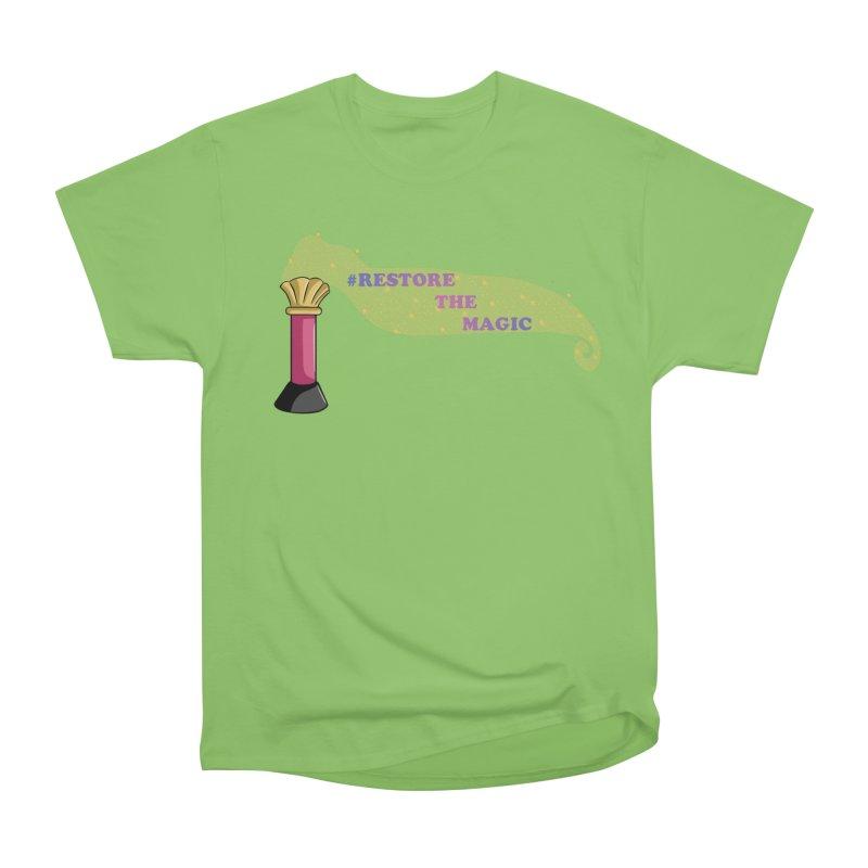 Restore The Magic Men's Heavyweight T-Shirt by RestoreTheMagic's Artist Shop