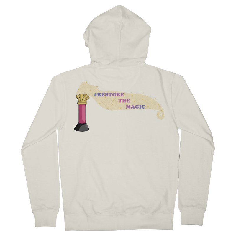 Restore The Magic Women's French Terry Zip-Up Hoody by RestoreTheMagic's Artist Shop